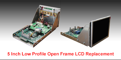Industrial LCD Monitor Low profile Frame MN05A1g0-Gxx replacement
