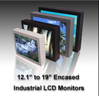 Industrial cnc Monitor, metal enclosed industrial lcd monitors, mounted industrial lcd monitor